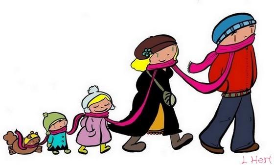 """Résultat de recherche d'images pour """"balade en famille dessin"""""""